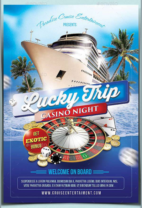 12  cruise flyer designs