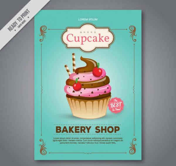 Cupcake Bakery Flyer