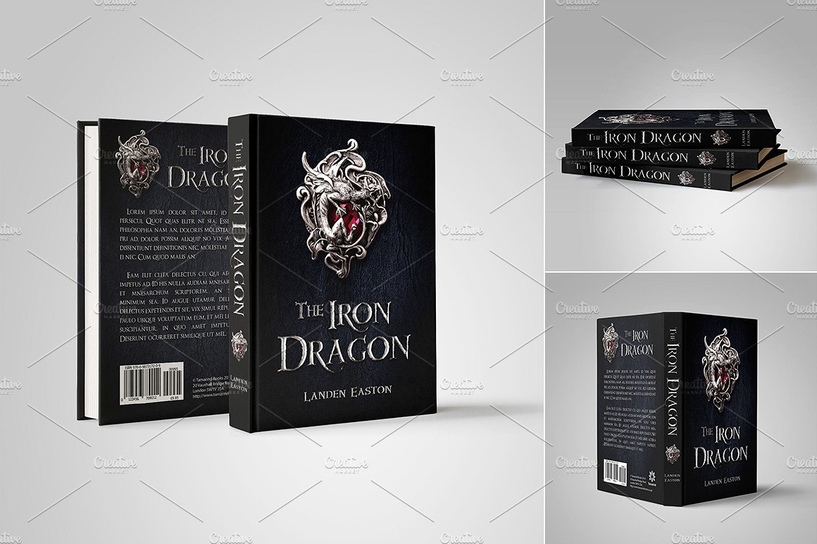 customizable book cover