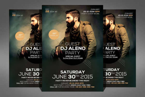 DJ Party Flyer
