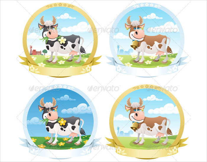 dairy product label