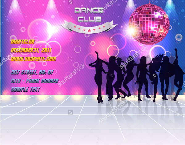 Dance Party Event Banner