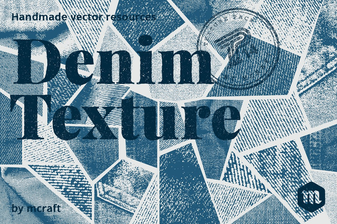 denim photoshop texture brushes