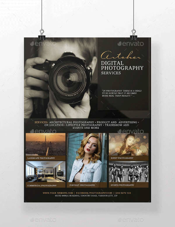 Digital Photography Services Flyer
