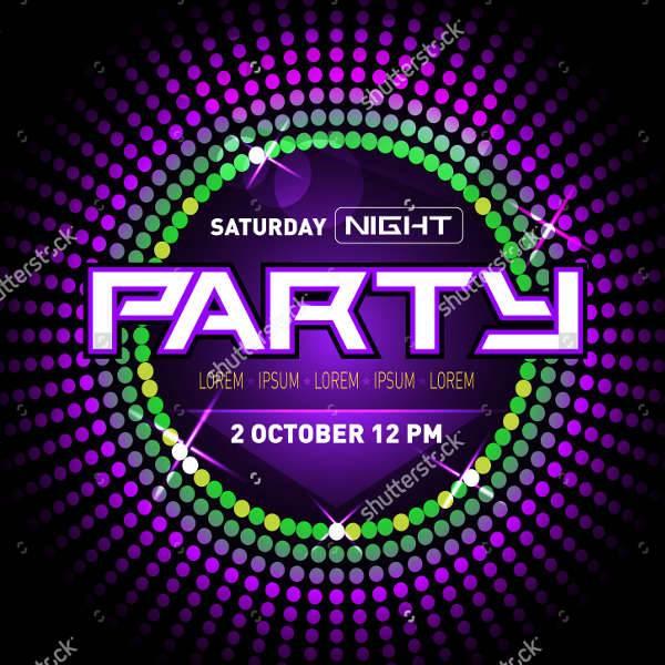 Disco Club Party Flyer