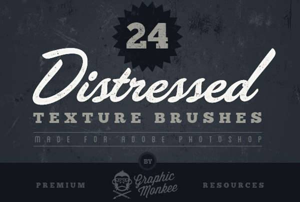 Distressed Texture Brushes