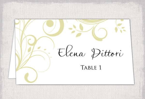 Diy Name Card