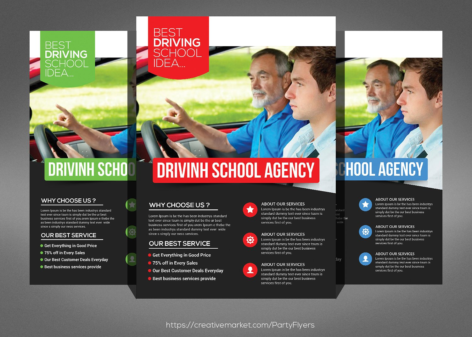 22  school flyers templates