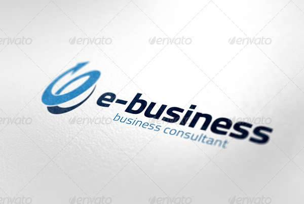 e business logo template