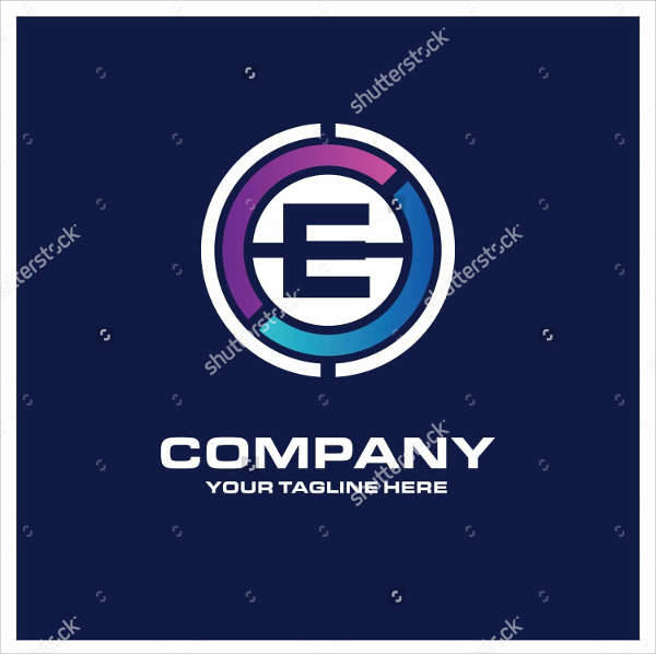 e creative business logo