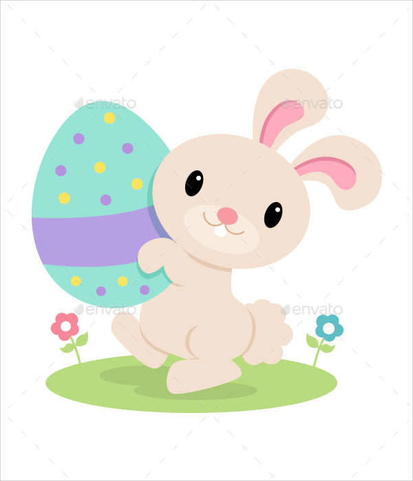 Easter Bunny Illustration