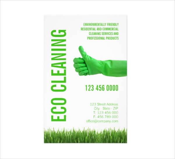 Eco Cleaning Service Flyer