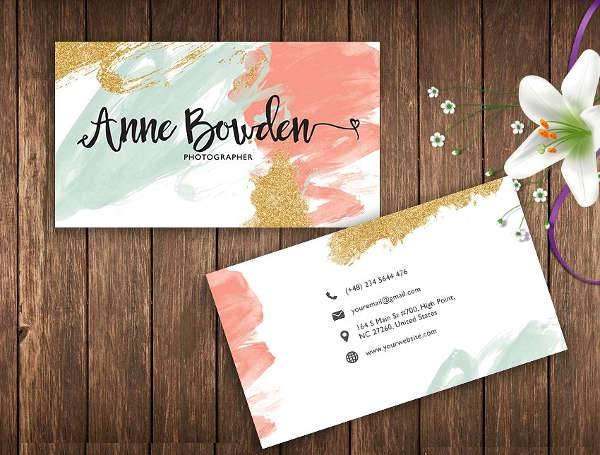 Elegant Name Card