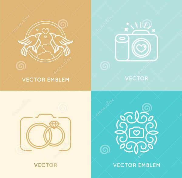 Elegant Wedding Photography Logo