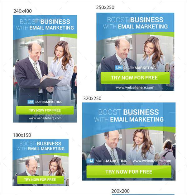 email marketing ad banner