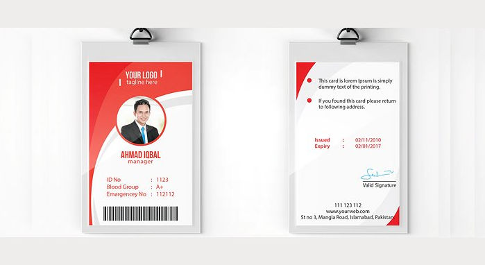 identity cards designs