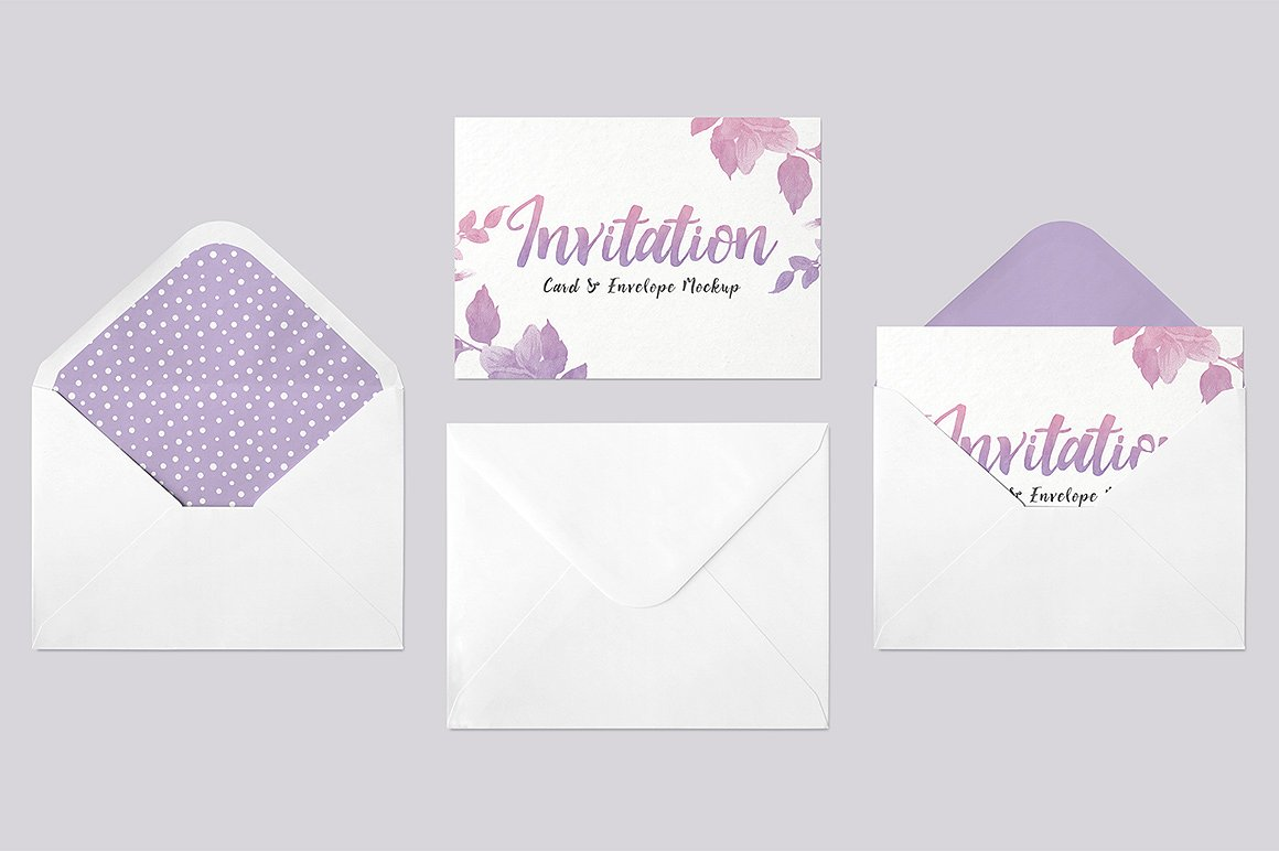 Envelope Card Template
