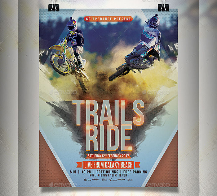 Extreme Sports Event Flyer