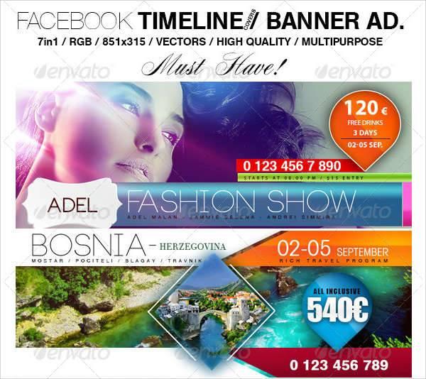facebook timeline banner ad