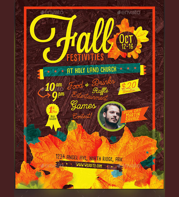 Fall Festival Holiday Flyer