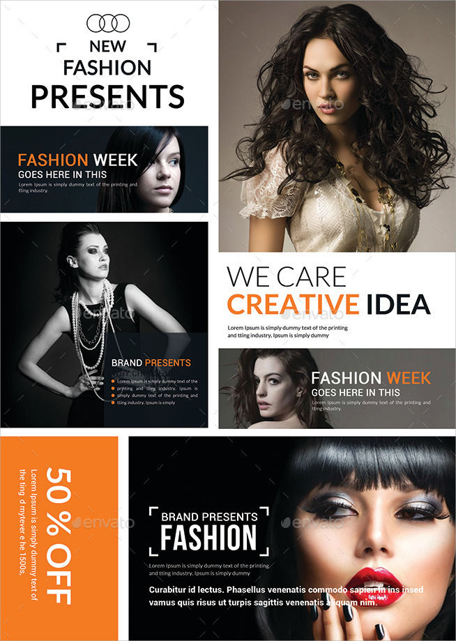 15 agency flyers design trends premium psd vector for Fashion design agency