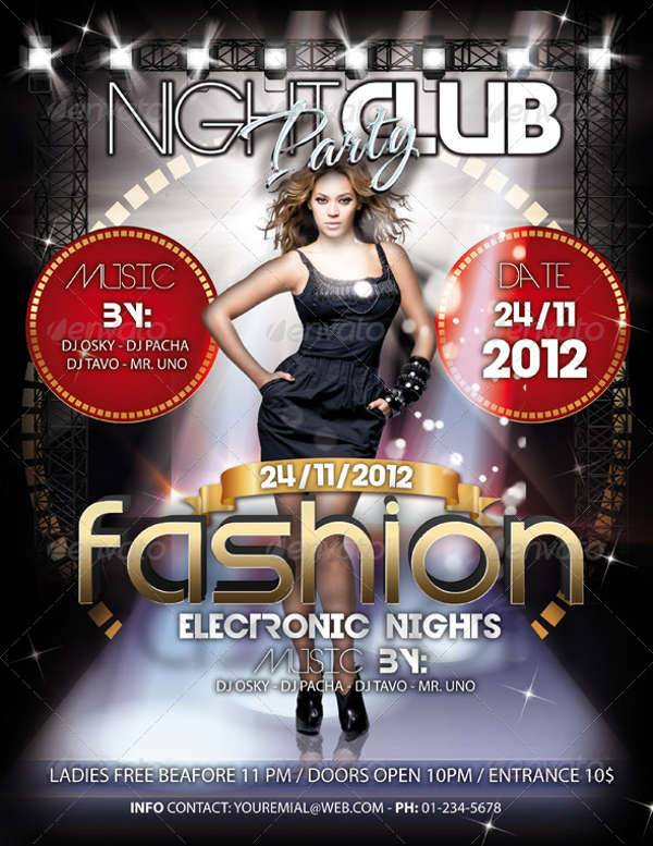 Fashion Party Event Flyer