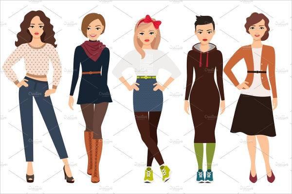 fashion women illustration1
