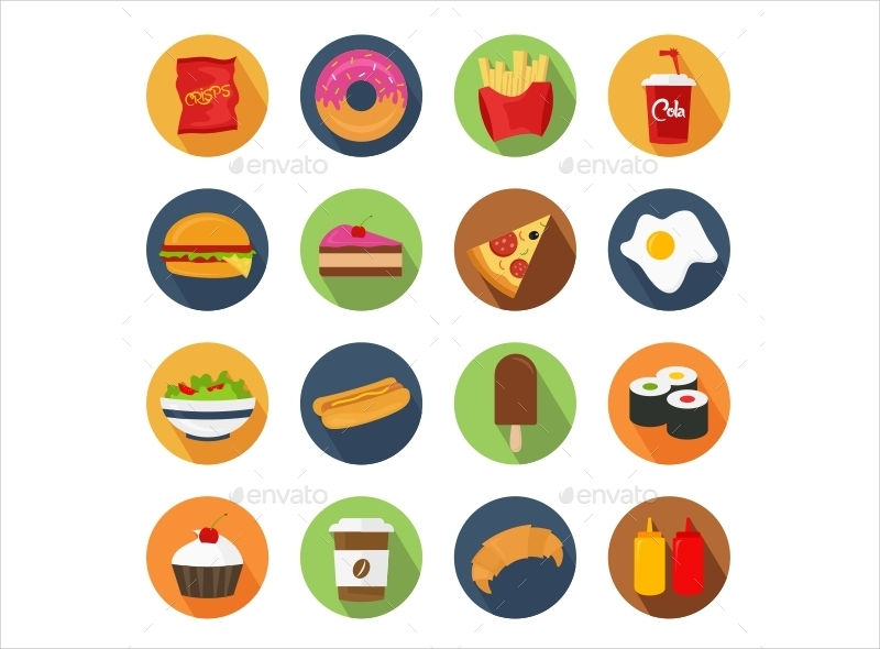 fast food icons1