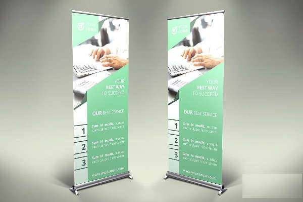 Finance Event Banner Ad