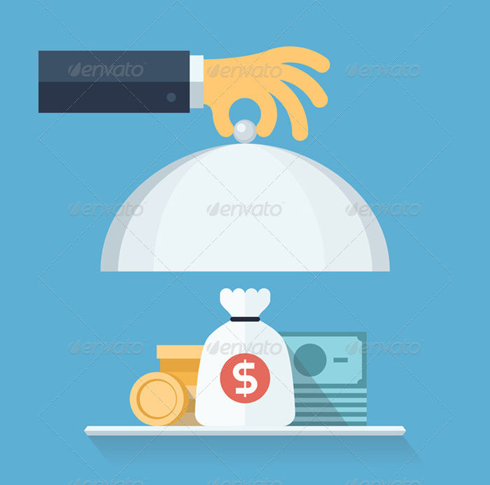 financial service illustration