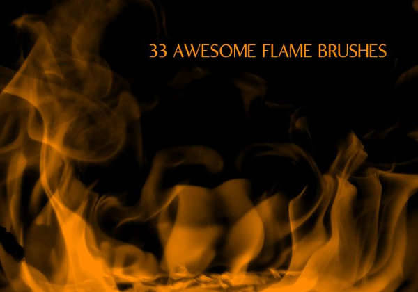 fire flame brushes