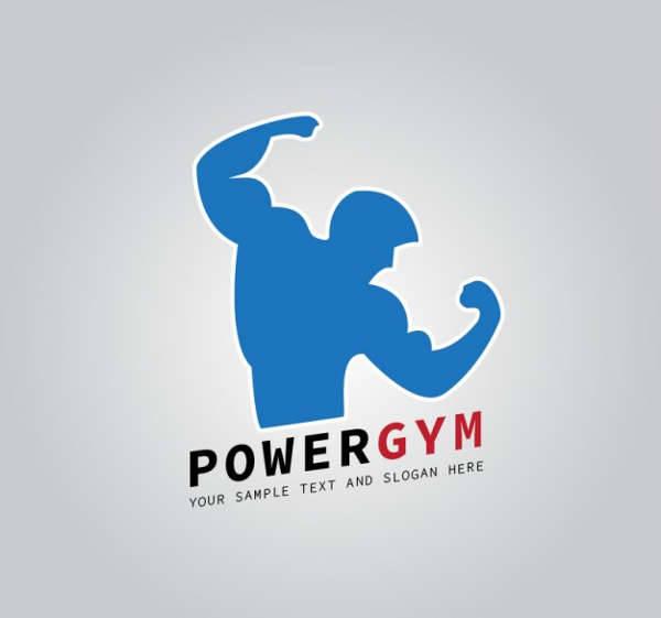 fitness club logo vector