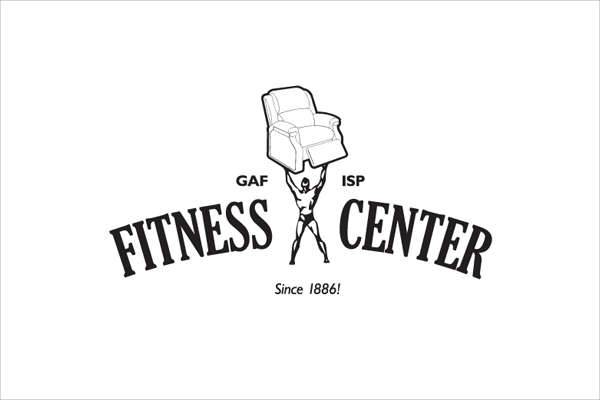 Fitness & Gym Center Logo