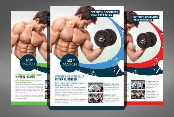 Fitness Gym Health Flyer