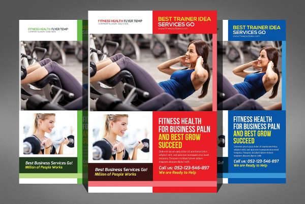 Fitness Health Flyer