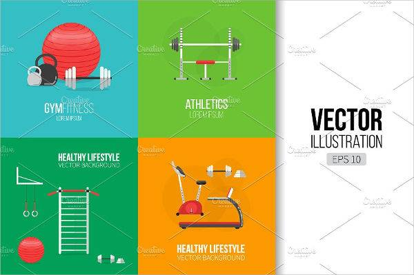 fitness sports banner
