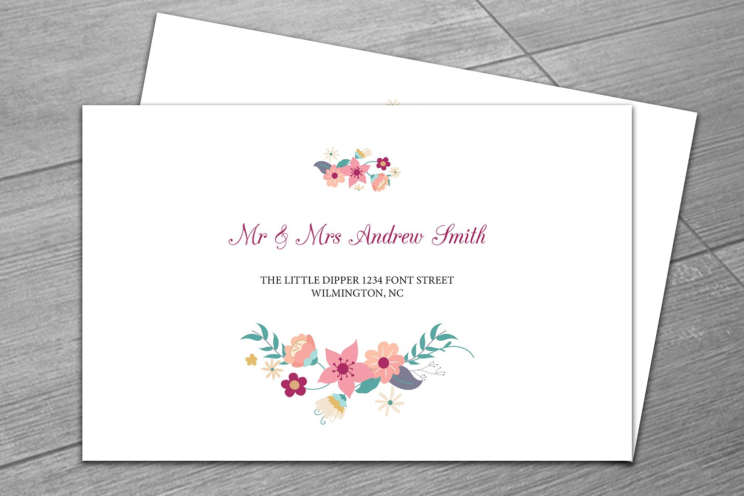 wedding envelope design - Romeo.landinez.co