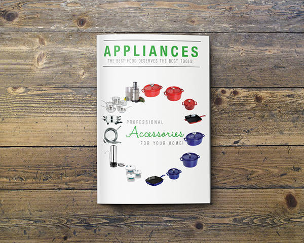 food appliances service catalog