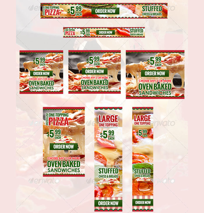 food banner ads