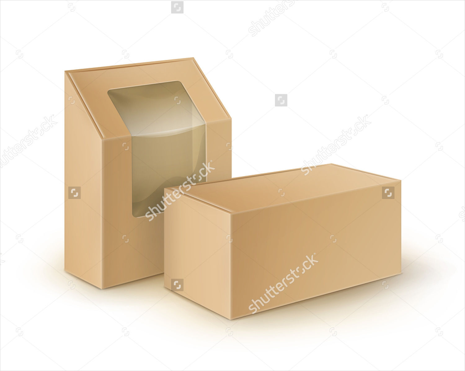 food box packaging set
