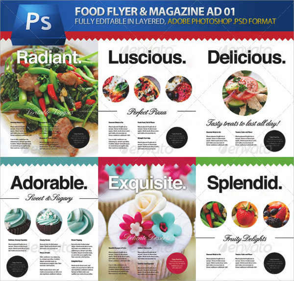 Food & Cooking Flyer