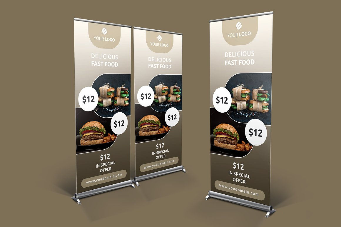 Food Product Banner