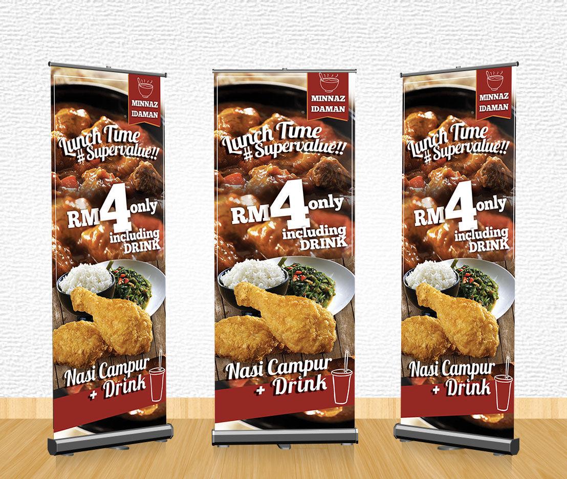 food promotion banner