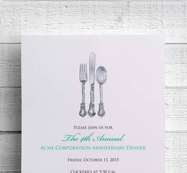 40 Business Invitation Designs Psd Ai Word Design