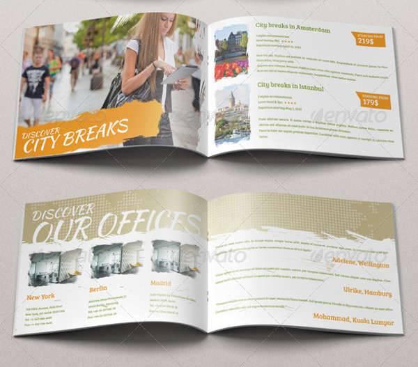 Fun Travel Brochure Template