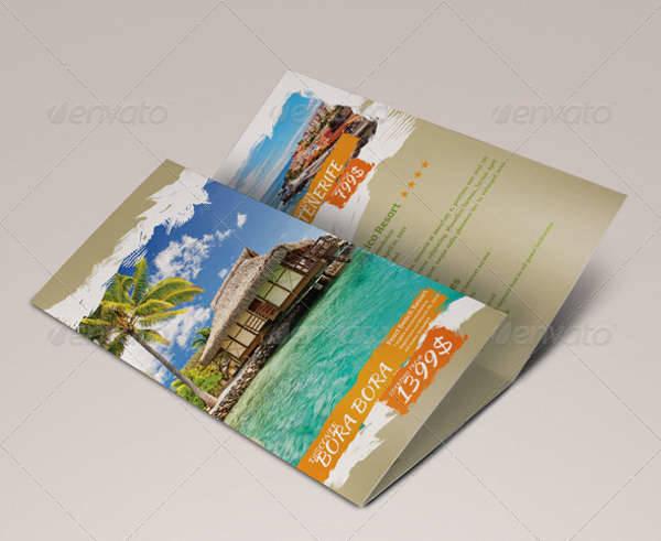 Fun Travel Trifold Brochure