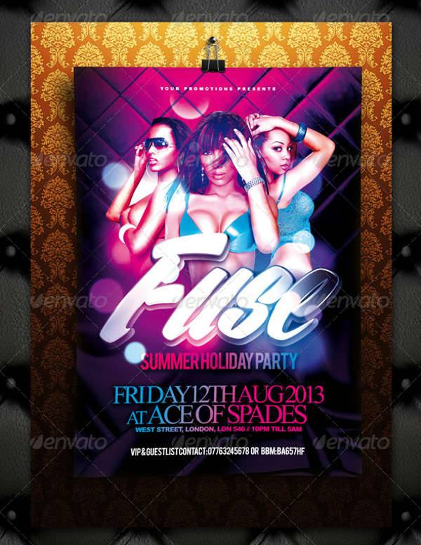 Fuse Summer Holiday Flyer