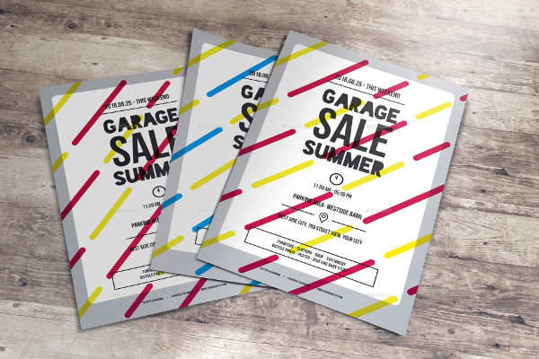 Garage Summer Sale Flyer