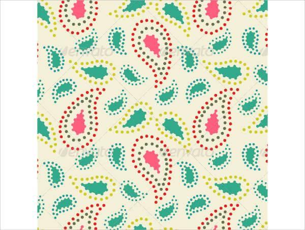 geometric paisley patterns