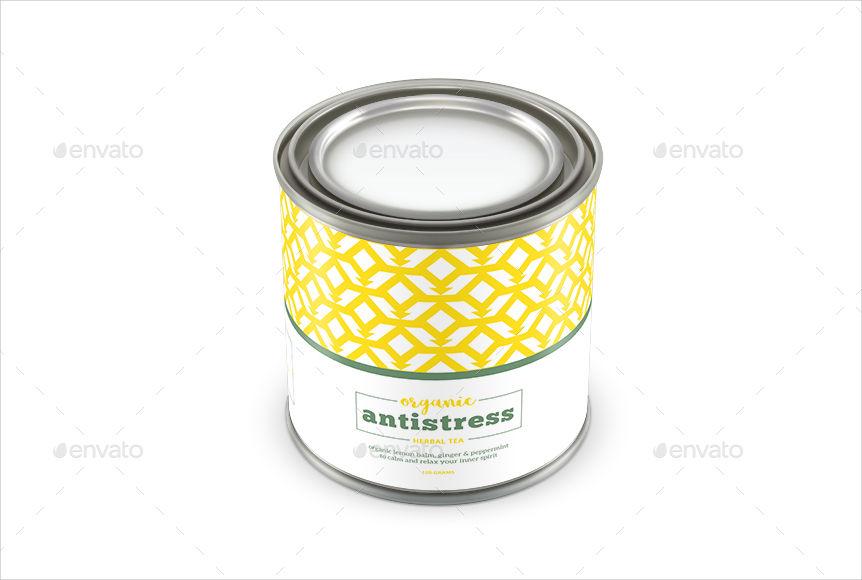 geometric pattern multipurpose packaging label